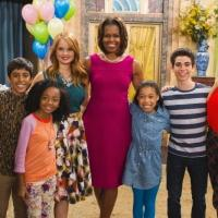 First Lady Michelle Obama Guests on Disney Channel's JESSIE Today
