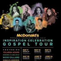 McDonald's Inspiration Celebration Gospel Tour Returns with Donald Lawrence & More