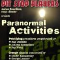 Pit Stop Players Present PARANORMAL ACTIVITIES Concert at DiMenna Center Tonight, 10/29