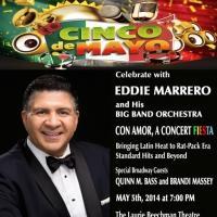 Eddie Marrero & Big Band Orchestra to Celebrate Cinco de Mayo at Laurie Beechman Theatre, 5/5