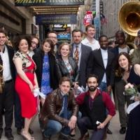 Photo Coverage: AIRLINE HIGHWAY Cast Parades to the Samuel J. Friedman Theatre