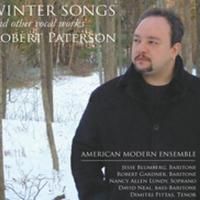 Robert Paterson's WINTER SONGS out 12/3 on American Modern Recordings