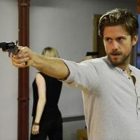 Photo Flash: In Rehearsal for Menier Chocolate Factory's ASSASSINS with Aaron Tveit, Catherine Tate & More!