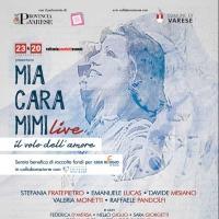 'Mia cara Mimi Live...il volo dell'amore', 26 settembre, Teatro Apollonio di Varese