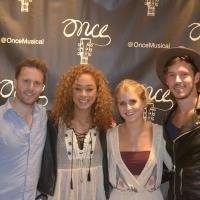 Photo Flash: NASHVILLE Stars Sam Palladio and Chaley Rose Visit ONCE on Tour