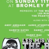 LES MIS V PHANTOM: Charity Football Match Announced For Aug 11