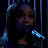 VIDEO: Estelle Performs 'Conqueror' on LATE LATE SHOW
