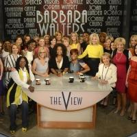 Photo Flash: Oprah, Hilary Clinton & More Surprise Barbara Walters on Final THE VIEW