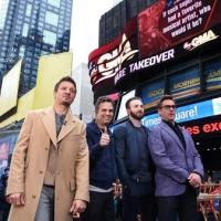 Photo Flash: Cast of MARVEL'S AVENGERS: AGE OF ULTRON Take Over New York's Times Square