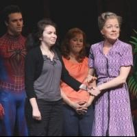 Photo Flash: SPIDER-MAN Honors Everyday Hero Cathy Fritea on Mother's Day