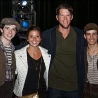 Photo Flash: LA Dodgers Pitcher Clayton Kershaw Visits NEWSIES