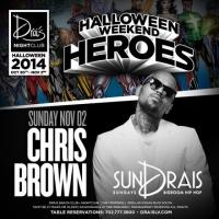 Chris Brown Added to Halloween Weekend Heroes Lineup at Drai's Nightclub