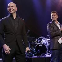 PITBULL Performs on Honda Stage at iHeartRadio Theater
