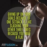 Fitness Tip of the Day: Bounce Back From Setbacks