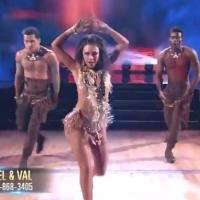 VIDEO: Janel Parrish Has Jungle Fever in Lively DWTS' Trio Performance