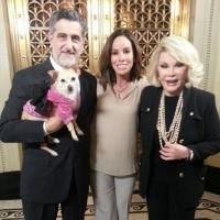 Photo Flash: LADY DAY's Roxie the Chihuahua Attends Funeral for Joan Rivers' Dog Max