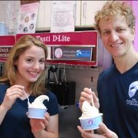 Photo Flash: Mary Michael Patterson and Jeremy Hays Try Tasti D-Lite's PHANTOM-Inspired 'Marshmallow Masquerade'