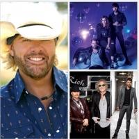Toby Keith & Lady Antebellum & More Set for CMT's ULTIMATE KICKOFF PARTY LIVE, 1/9