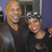 Photo Flash: Mike Tyson Stops by Broadway's AFTER MIDNIGHT