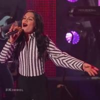 VIDEO: Jesse J Performs 'Masterpiece', 'Burnin' Up' on JIMMY KIMMEL