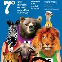 Se realiz� el 7o Gran Marat�n de Teatro para Ni�os y J�venes