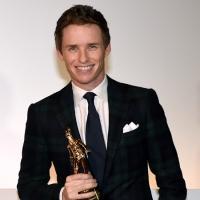 Actor Eddie Redmayne Receives Turin Film Fest's 'Maserati Award'
