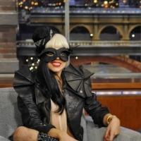 Lady Gaga to Perform on CBS's LATE SHOW WITH DAVID LETTERMAN, 4/2