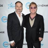 Elton John, David Furnish Attend OPERATION CHANGE Reception & Screening