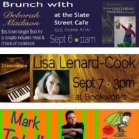 September's Featured Events at Bookworks Includes Deborah Madison Brunch, Lisa Lenard-Cook and More