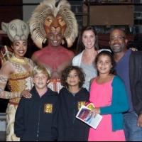 Photo Coverage: Darius Rucker Visits THE LION KING