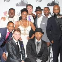 Photo Coverage: HOLLER IF YA HEAR ME Company Celebrates Opening Night!