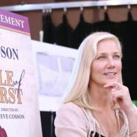 Photo Coverage: Joely Richardson and THE BELLE OF AMHERST Team Meets the Press