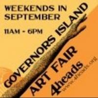 7th Annual Governors Island Art Fair Opens Today
