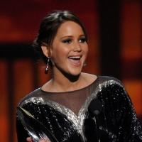 Jennifer Lawrence Among Winners of Spike TV's 2013 GUYS CHOICE