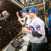 Photo Flash: THE BOOK OF MORMON's David Larsen and Cody Jamison Strand Deliver First Pitch and More at Wrigley Field