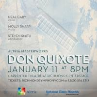 The Richmond Symphony Presents DON QUIXOTE Tonight