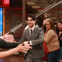 Photo Flash: HEDWIG's Darren Criss Visits Today's 'Live'