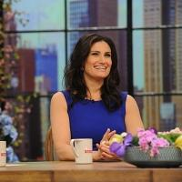 Photo Flash: IF/THEN's Idina Menzel Visits CBS's 'The Talk'