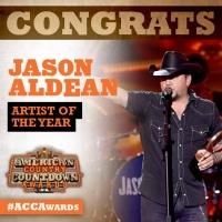 Jason Aldean Among Winners of Inaugural AMERICAN COUNTRY COUNTDOWN AWARDS; Full List