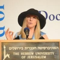 Photo Flash: Barbra Streisand Accepts Honorary Degree from Hebrew University of Jerusalem