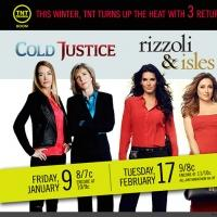 TNT Announces Premiere Dates for COLD JUSTICE, RIZZOLI & ISLES & PERCEPTION