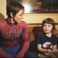 Photo Flash: SPIDER-MAN Celebrates Father's Day With Dads Backstage!