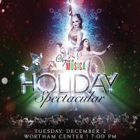 Experience the magic when Cirque meets symphony for the holidays