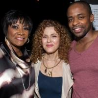 Photo Coverage: Bernadette Peters Visits Patti LaBelle at AFTER MIDNIGHT!