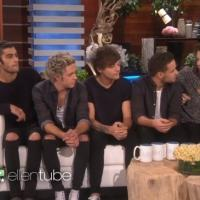 First Look - One Direction Talks Stomach Flu, Rumors & More on ELLEN