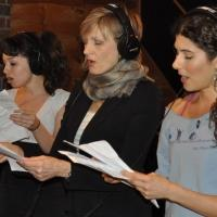 Exclusive Photo Coverage: In the Recording Studio with the MAMMA MIA! Cast for Carols For A Cure!