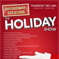 BROADWAY SESSIONS Hosts Annual Holiday Concert Tonight