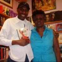 Photo Flash: Carl Unegbu Visits COMEDY UNDER ATTACK Book Signing in Harlem