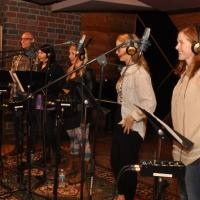 Exclusive Photo Coverage: In the Recording Studio with WICKED Cast for Carols For A Cure!