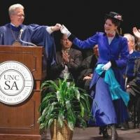 Photo Flash: Disney Theatrical Group's Thomas Schumacher and MARY POPPINS' Rachel Wallace at UNCSA Graduation